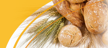 Various ingredients for bread making