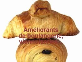 Améliorants de boulangerie, viennoiserie