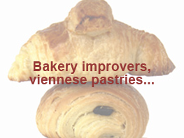 Bakery improvers, viennese pastries…